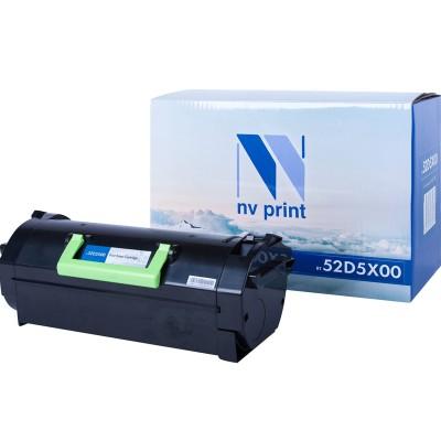 Картридж NV Print 52D5X00 черный для Lexmark, совместимый