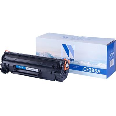 Картридж NV Print CE285A черный для HP, совместимый