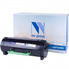 Картридж NV Print 60F5H00 черный для Lexmark, совместимый
