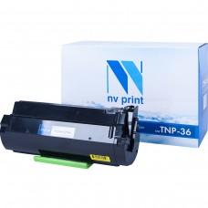 Тонер картридж NV Print TNP-36 черный для Konica-Minolta, совместимый
