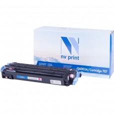 Картридж NV Print Q6003A/Canon 707 красный для HP-Canon, совместимый