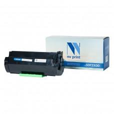 Картридж NV Print 50F2X00 черный для Lexmark, совместимый