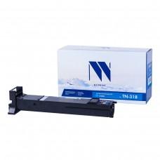 Тонер-картридж NV Print TN-318 Cyan синий для Konica-Minolta, совместимый