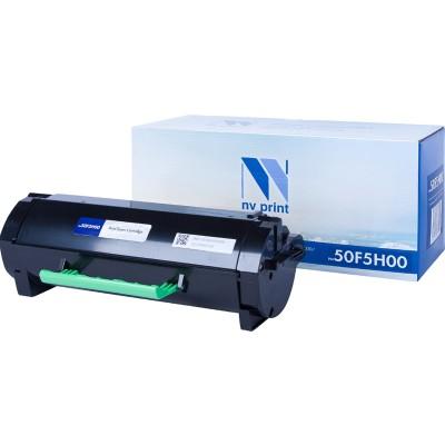 Картридж NV Print 50F5H00 черный для Lexmark, совместимый