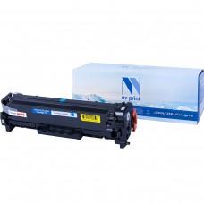 Картридж NV Print CE411A/CC531A/Canon 718 синий для HP-Canon, совместимый