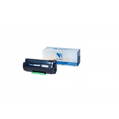 Картридж NV Print 60F5X00 черный для Lexmark, совместимый