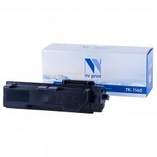 Картридж NV Print TK-1160 (БЕЗ ЧИПА) черный для Kyocera, совместимый