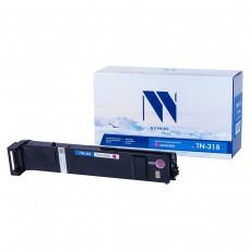 Тонер-картридж NV Print TN-318 Magenta красный для Konica-Minolta, совместимый