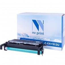 Барабан NV Print C-EXV18 DU черный для Canon, совместимый