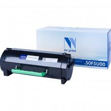 Картридж NV Print 50F5U00 черный для Lexmark, совместимый