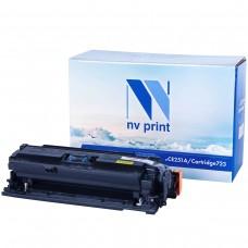Картридж NV Print CE251A/Canon723C синий для HP-Canon, совместимый