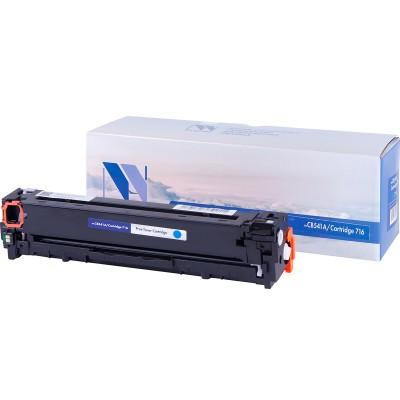 Картридж NV Print CB541A/Canon 716 синий для HP-Canon, совместимый