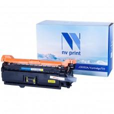 Картридж NV Print CE252A/Canon 723 желтый для HP-Canon, совместимый