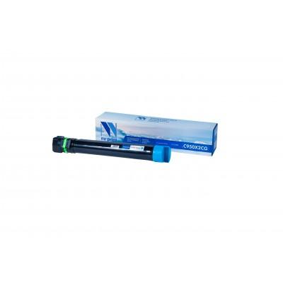 Картридж NV Print C950X2CG синий для Lexmark, совместимый