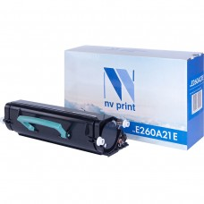 Картридж NV Print E260A21E черный для Lexmark, совместимый