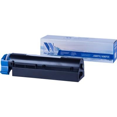 Картридж NV Print 45807111/45807121 черный для Oki, совместимый