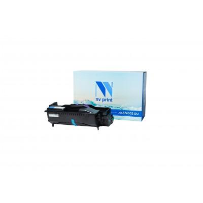 Барабан NV Print 44574302 DU черный для Oki, совместимый