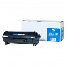 Картридж NV Print 51F5H00 черный для Lexmark, совместимый