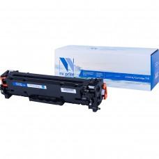 Картридж NV Print CC531A/Canon 718 синий для HP-Canon, совместимый