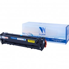 Картридж NV Print CF211A/CE321A/CB541A/Canon 716/731 Cyan синий для HP-Canon, совместимый