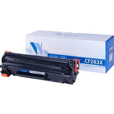 Картридж NV Print CF283X черный для HP, совместимый
