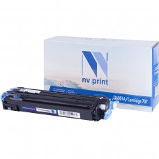 Картридж NV Print Q6001A/Canon 707 синий для HP-Canon, совместимый